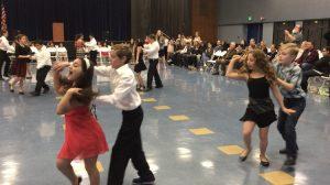 kids salsa dance