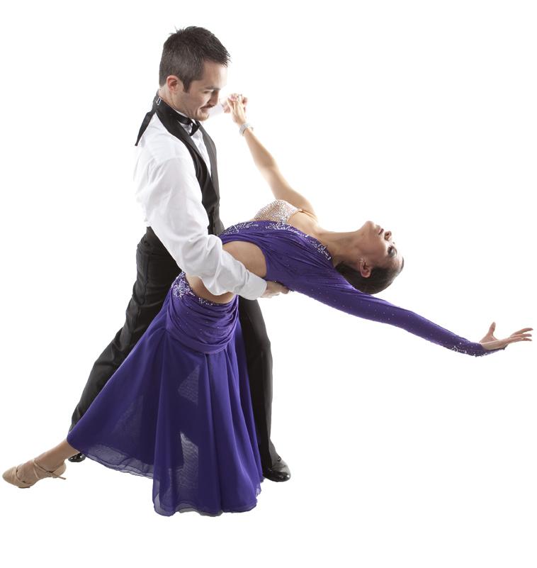 Waltz dance show
