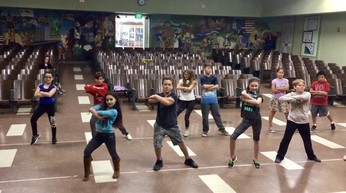 kids dance performance