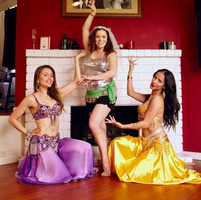 belly dancing for bachelorette