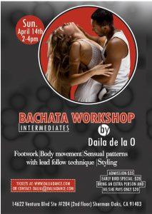 Bachata Workshop intermediates