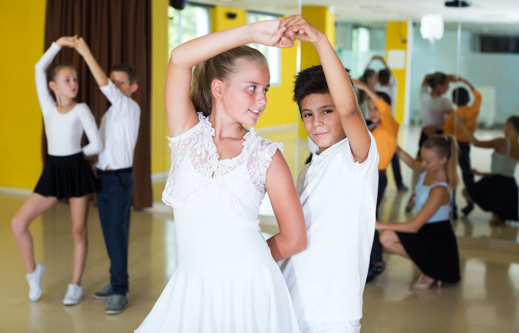 kids salsa dancing